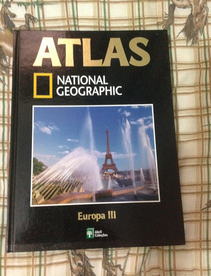 Atlas National Geographic Europa 3