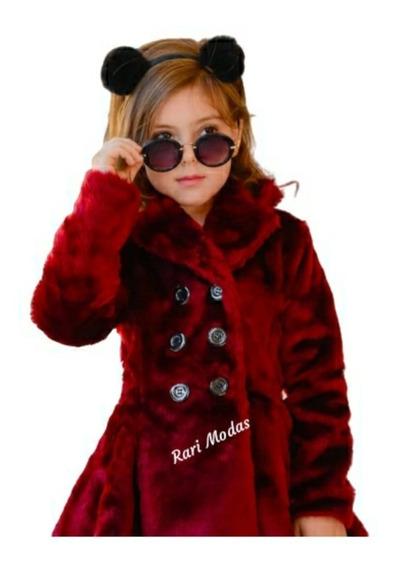 Lindo Casaco Forrado Lançamento Outono Inverno Infantil 20