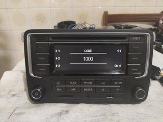 Radio Vw P/ Gol Saveiro Voyage G7 E G8 2019com Usb Cartão Sd