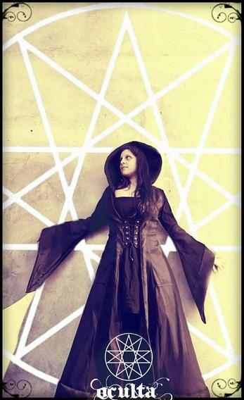 Vestido Medieval Dark Gothic Vestido Gotico