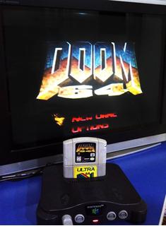 Doom 64 Jogo Cartucho Nintendo 64 N64