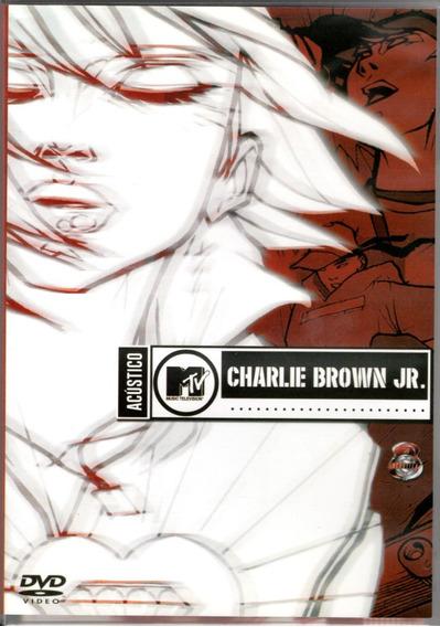 Dvd Charlie Brown Jr. - Acústico Mtv