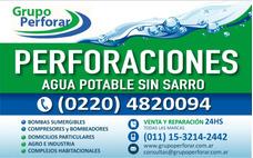 Perforaciones Agua Potable Merlo; Padua; Ituzaingo Castelar