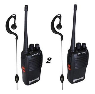Radio Comunicador Transmissor Walk Talk Baofeng Até 3km Novo