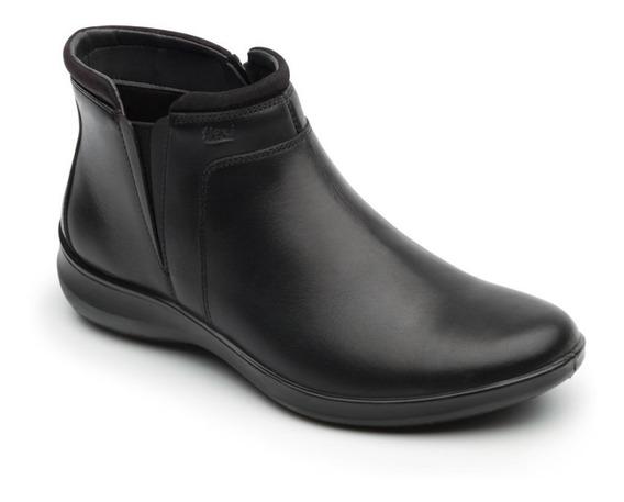 Zapato Botin Casual Dama 25909 Flexi Negro