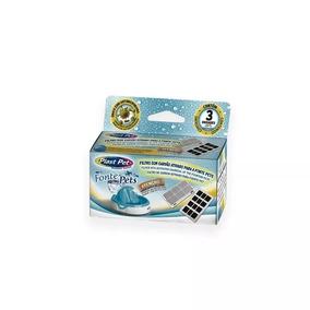 Refil Filtro Fonte Purificador De Agua Plast Pet Caixa 3unid