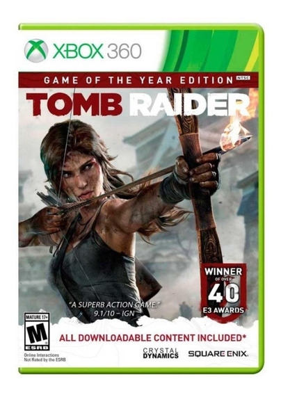 Tomb Raider Xbox 360 Original Seminovo