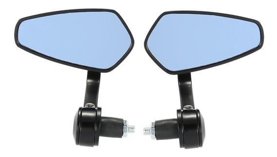 Par De Motocicleta End Bar Espelho Retrovisor Universal 7/8