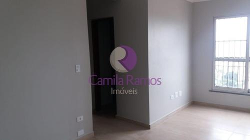 Imagem 1 de 5 de Apartamento Com 02 Dormitórios Para Venda, Jardim São Luis, Suzano/sp. - Ap00885 - 69000559