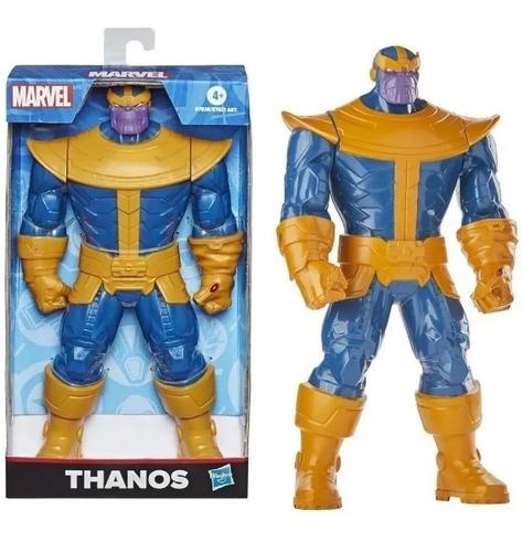 Imagem 1 de 6 de Boneco Thanos Da Hasbro Marvel Com Braços Articulados E7826