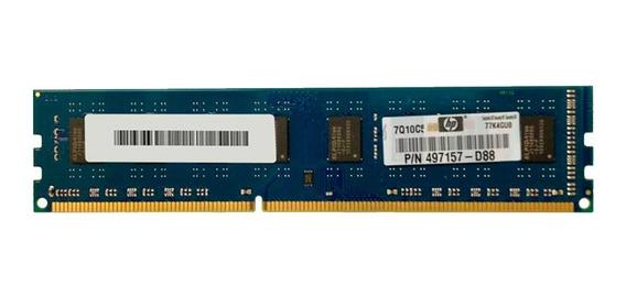 Memoria 2gb Ram Hp497157 D88 Ddr3 1333 - 10600u 2rx8