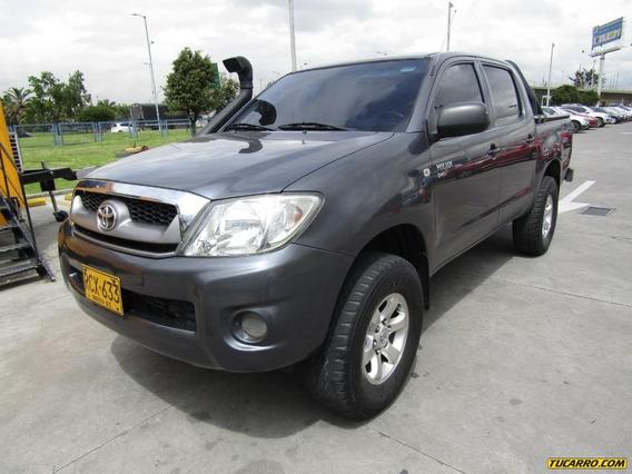 Toyota Hilux Mt 4x4 2500 Cc