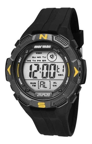 Relógio Mormaii Masculino Preto Digital Borracha Mo2908/8y