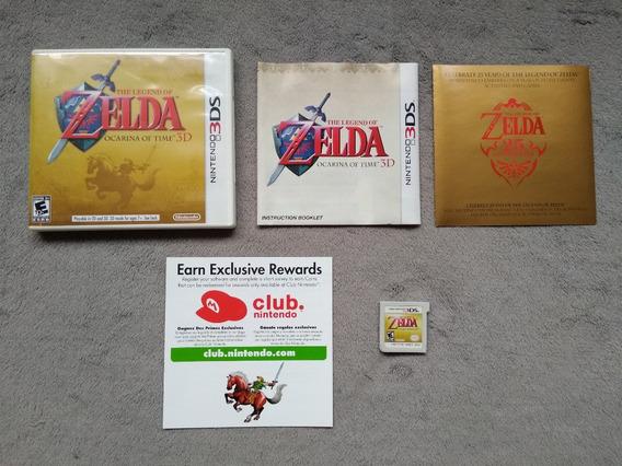3ds - The Legend Of Zelda Ocarina Of Time 3d, Americano