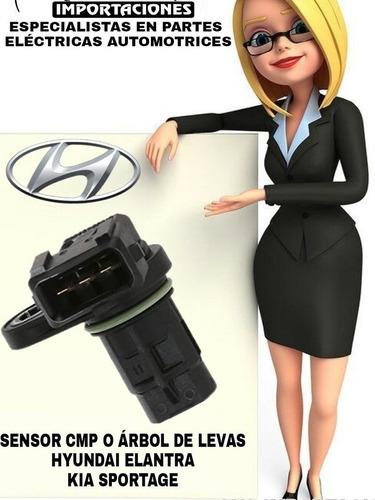 Sensor Cmp O Árbol De Levas, Hyundai Elantra, Kia Sportage