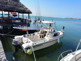 Lancha Yate 20 De Pesca Y Recreo Con Yamaha 115 2t