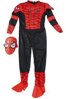 Disfraz Disfraces Super-heroes Spiderman -hombre Araña Niños