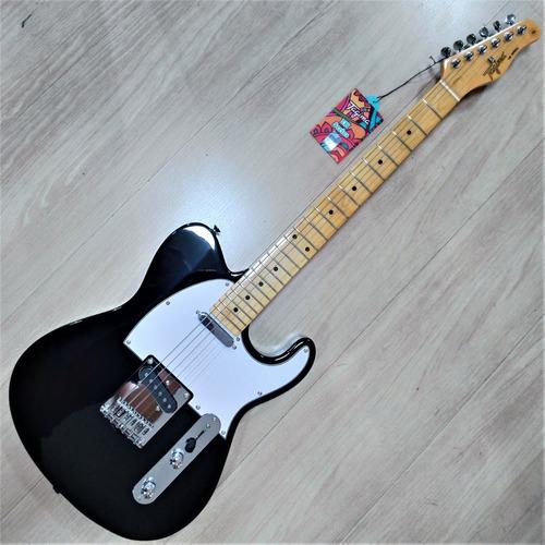 Imagem 1 de 9 de Guitarra Tagima Telecaster New Tw55 Bk Woodstock Series