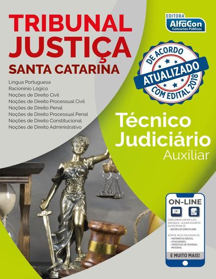 Tribunal De Justiça De Santa Catarina - Técnico Judiciári