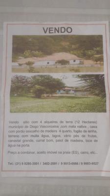 Vende Se Linda Fazenda Entre Ponte Nova Mg E Mariana Mg,