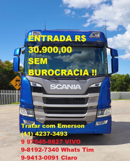 Scania P320 Bitruck