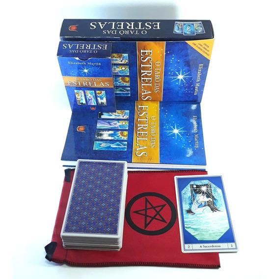 Taro Das Estrelas Livro Tarot 78 Cartas Brinde Estojo