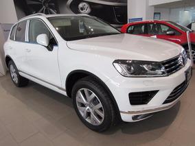 Volkswagen Touareg Tdi V6 Blanco 2017