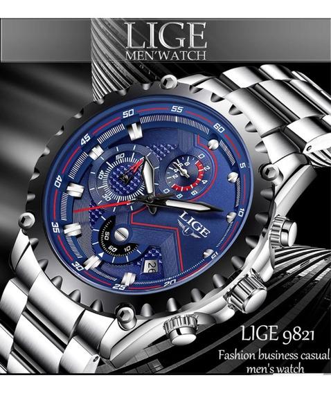 Relógio Esportivo Lige Original