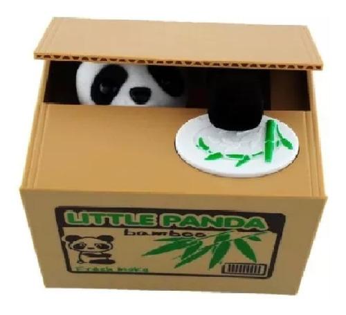 Alcancia Roba Monedas Panda Ahorros Dinero Oso Panda+envio