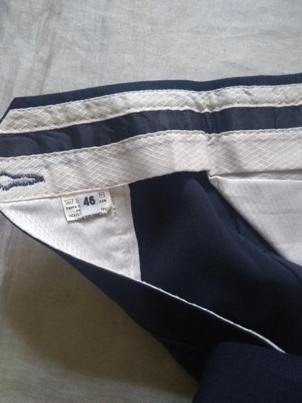 Pantalon De Vestir Hombre Azul Oscuro 46