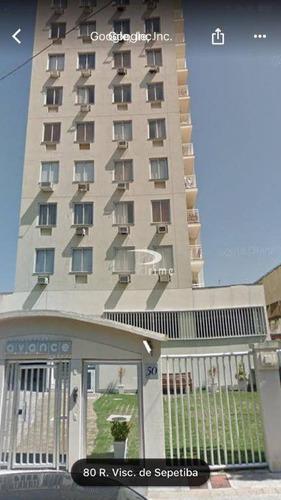 Apartamento Com 2 Dormitórios À Venda, 65 M² Por R$ 330.000,00 - Centro - Niterói/rj - Ap0354