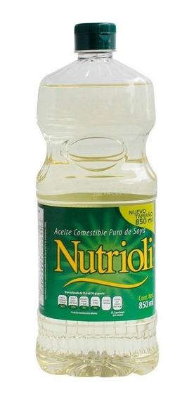 Aceite Nutrioli Puro De Soya 850 Ml