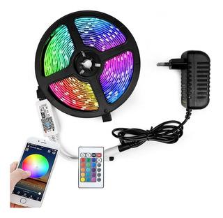 Tira Luz Led Rgb Wifi App 5m Multicolor Impermeable Flexible