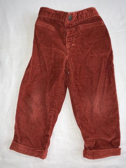 Lote Pantalones Beba Corderoy Osh Kosh Abrigada 12 Meses