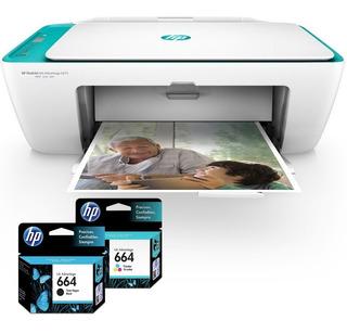 Impresora Multifunción Hp Deskjet Ink Advantage 2675 Wifi