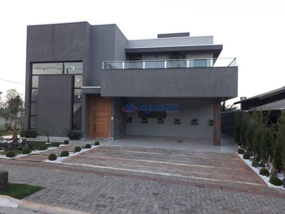 Casa À Venda, 350 M² Por R$ 1.590.000,00 - Sun Lake Residence - Londrina/pr - Ca0672
