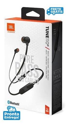 Fone De Ouvido Bluetooth Jbl In-ear 110bt Original