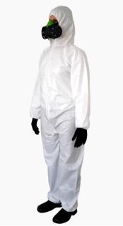 Macacão De Segurança Proteção Química, Limpeza Covertech 100