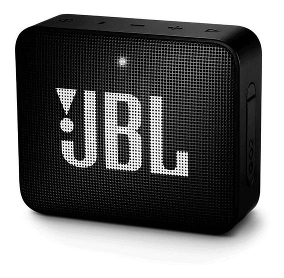 Caixa De Som Bluetooth Jbl Go 2 Preta Usb