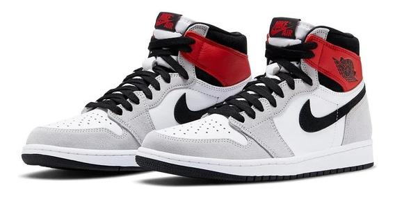 Tênis Nike Air Jordan 1 High Smoke Grey