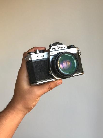 Câmera Analógica Pentax Asahi K1000 - Revisada