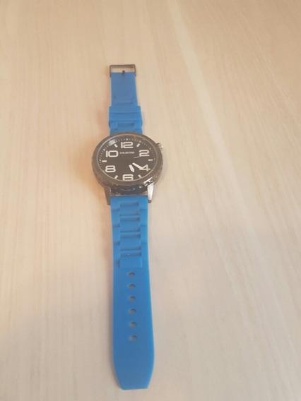 Relógio De Pulso Marca Unlisted Pulseira Azul Frete Grátis!