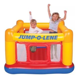 Inflable Brincolin Castillo Intex Jump O Lene Niños Amarillo