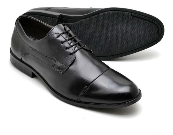Sapato Social Amarrar Tradicional Bico Redondo R.o. 16800