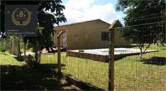 Chácara Com 3 Dormitórios À Venda, 1300 M² Por R$ 290.000,00 - Águas Claras - Viamão/rs - Ch0025