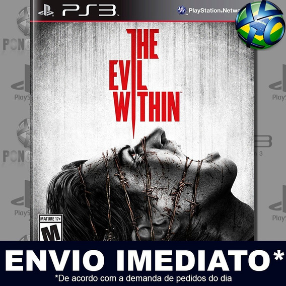 The Evil Within Ps3 Psn Jogo Promoção Pronta Entrega Play 3