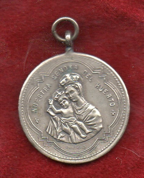Medalla - R - N. Señora Del Huerto - Alta Cordoba - 1912