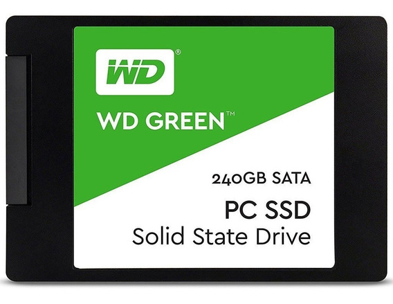 Hd Ssd 240gb Wd Green 2.5