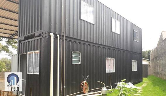 Casa Em Containers, Pronta Para Morar, Basta Preparar O Local De Recebimento, Com Água, Esgoto E Energia. 2 Quartos, Sendo Uma Suíte, Sala, Cozinha, B - So2460