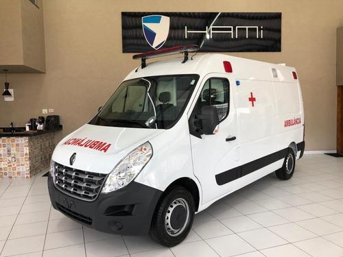 Renault Master 2.3 L2h2 2022 Ambulancia Uti